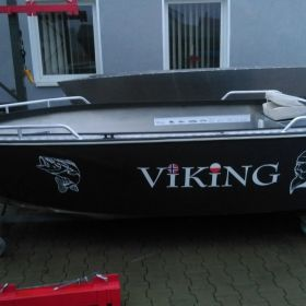 Łódź Aluminiowa Viking 390